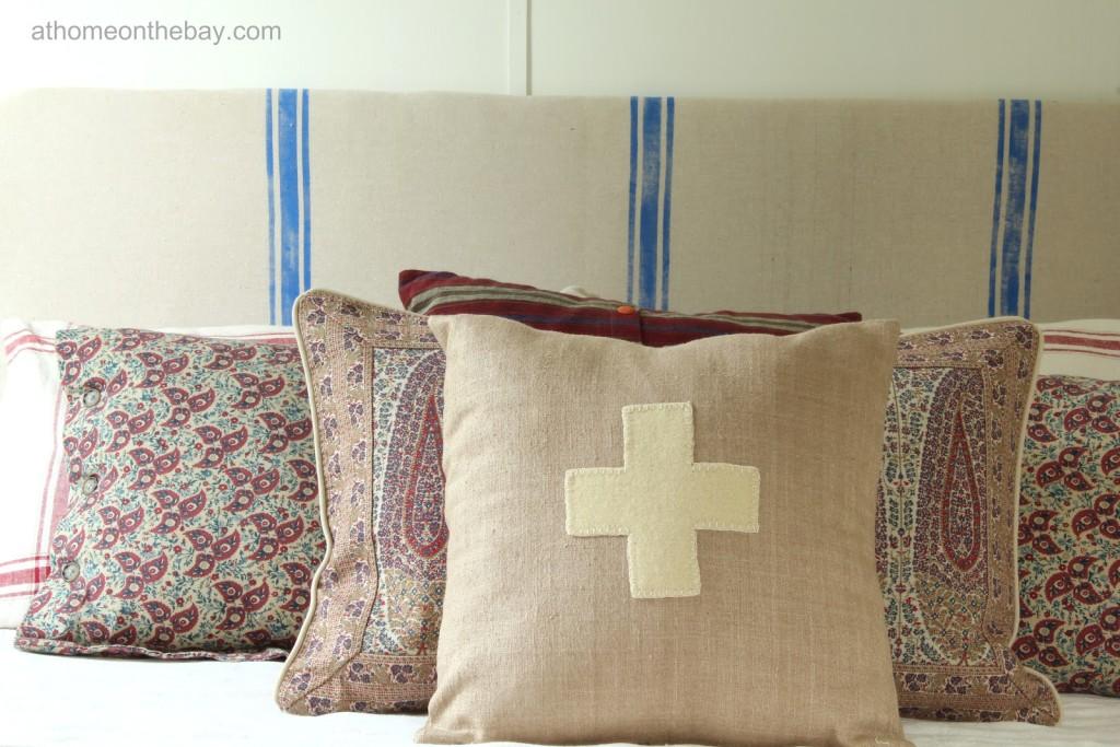 DIY: French Linen {Like} Headboard