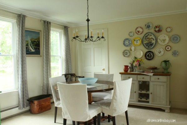 Dining Room Update with a Plate Gallery