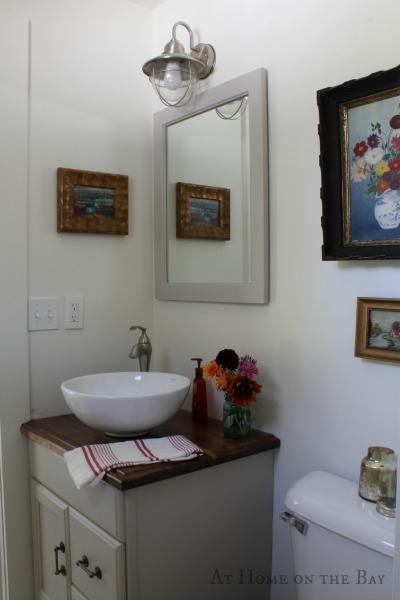 bathroom on budget