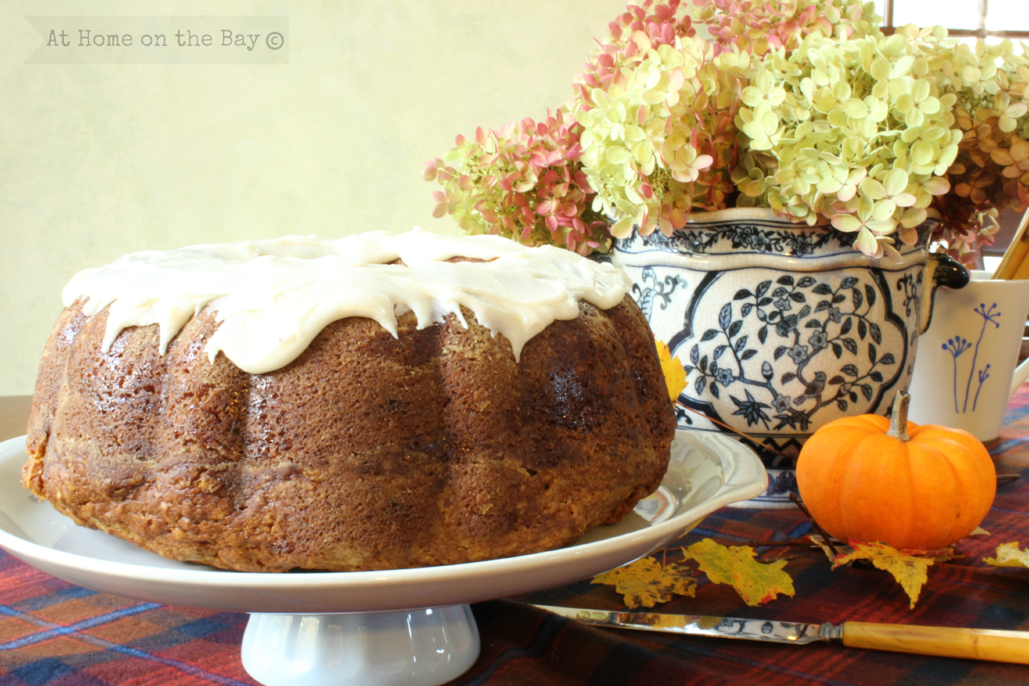 You are here: Home / baking / Pumpkin Tea Cake