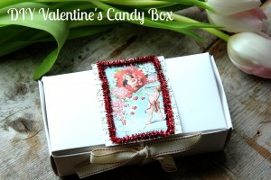 DIY Valentine's Candy Box
