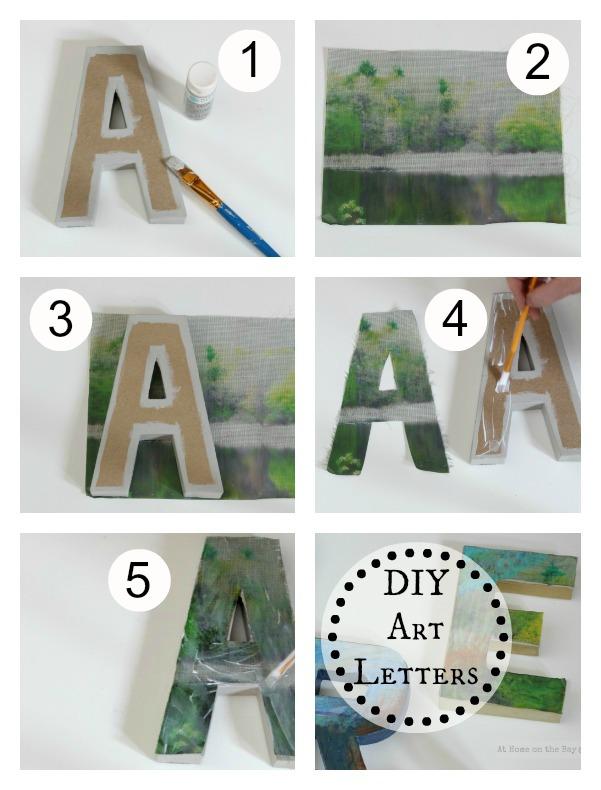DIY ART LETTER
