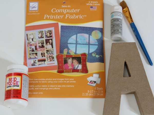 DIY Art Letters