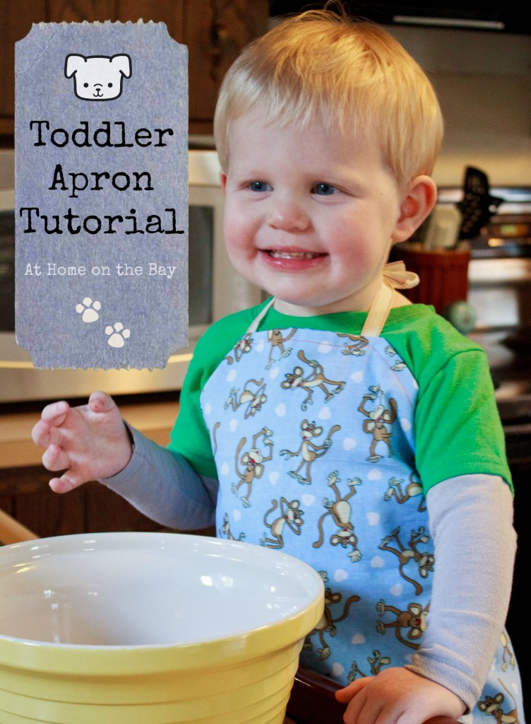 Toddler Apron Tutorial: At Home on the Bay