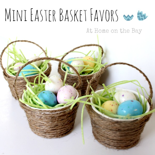 Mini Easter Basket Favors