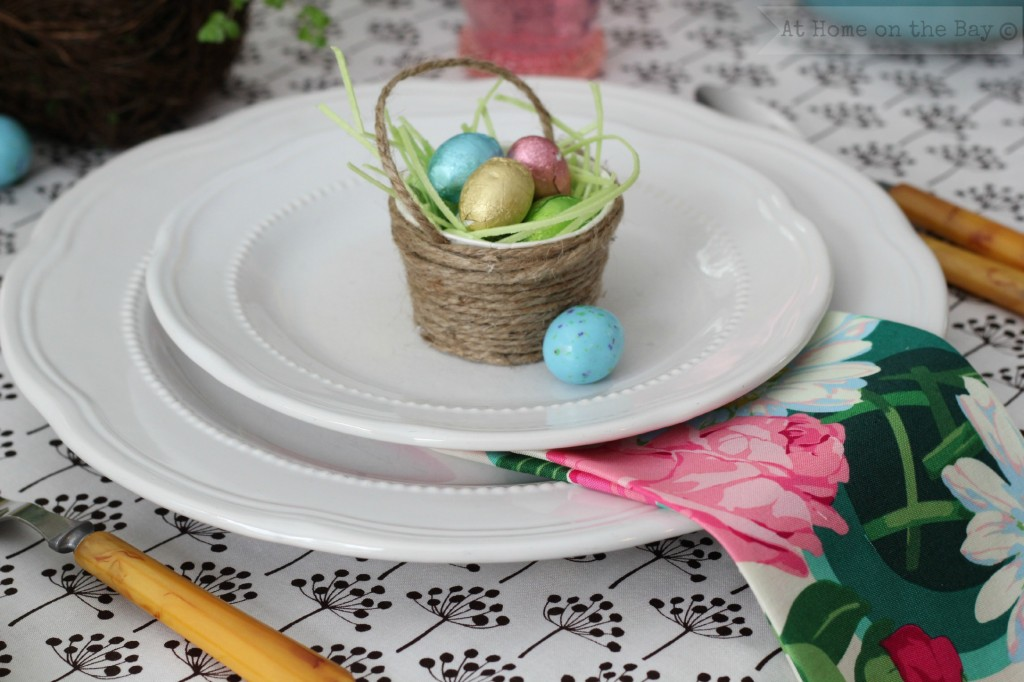 Easter Table Setting: At Home on the Bay