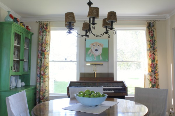 dining room update: At Home on the Bay