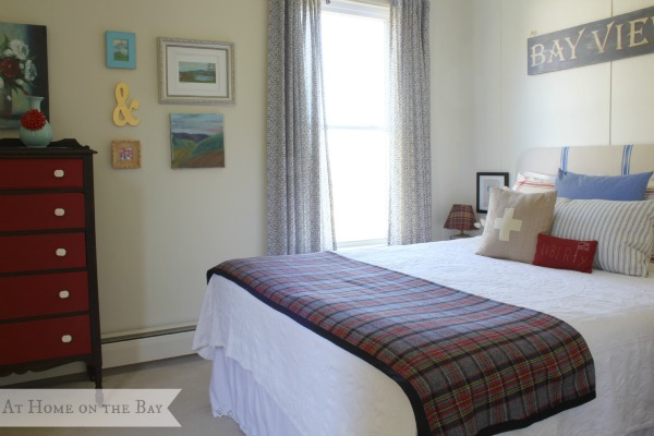 At Home on the Bay guest room1