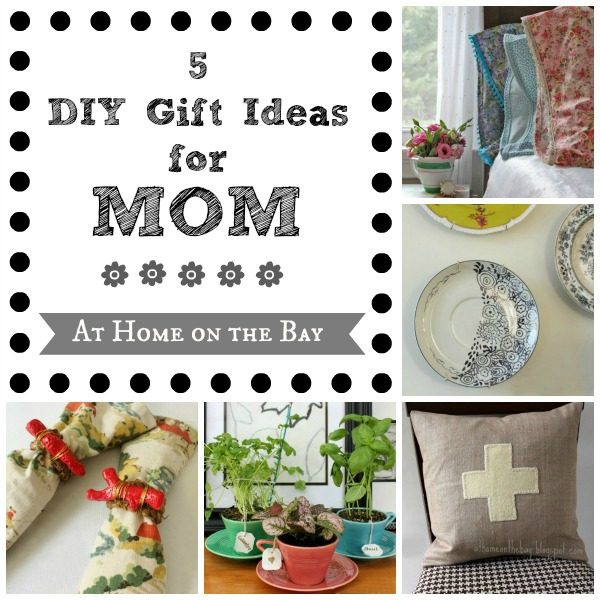 5 DIY Gifts for Mom from At Home on the Bay