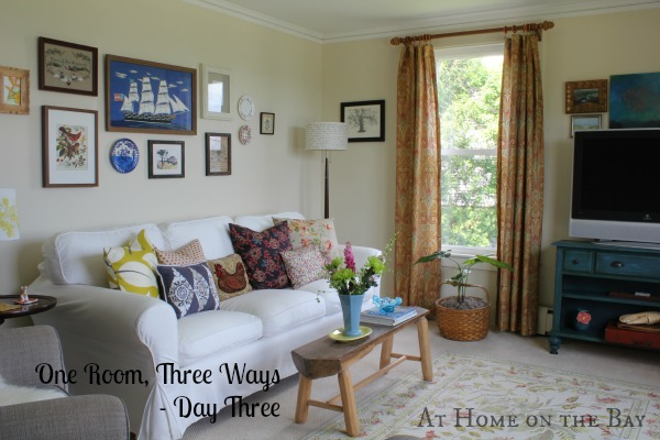 At Home on the Bay - Day 3 of One Room, Three Ways