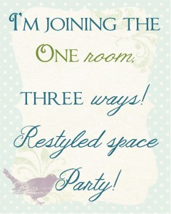 One Room, Three Ways - Link Party