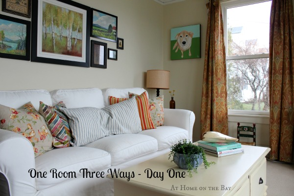 At Home on the Bay - One Room, Three Ways - Day One