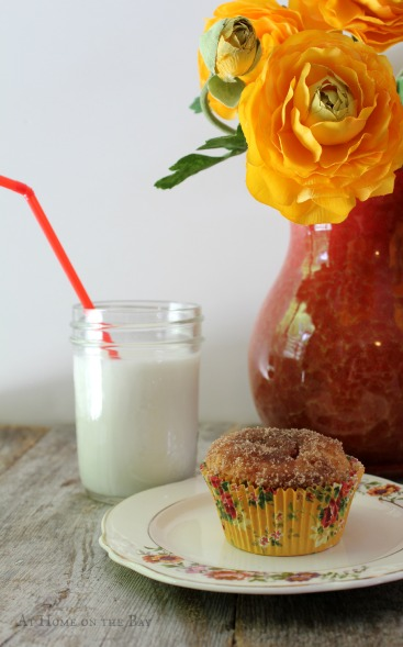 jelly donut muffin recipe