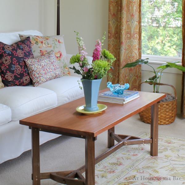 Handmade coffee table: At Home on the Bay
