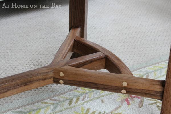 coffee table legs detail