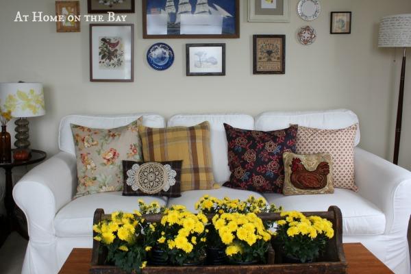 Fall pillow tutorial