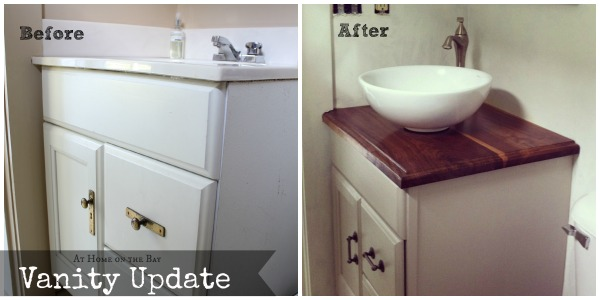 progress: vanity update