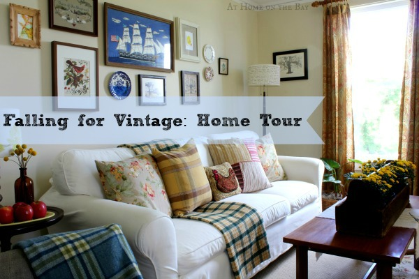 Falling for Vintage: Home Tour