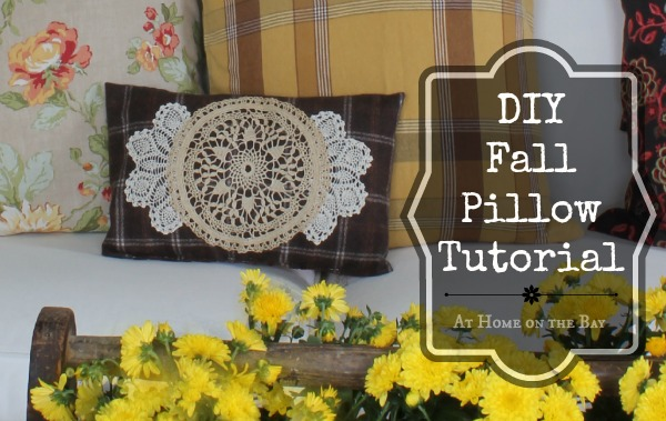 DIY Fall Pillow Tutorial