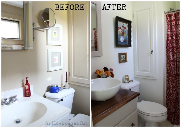 bathroom updates on a 500 budget