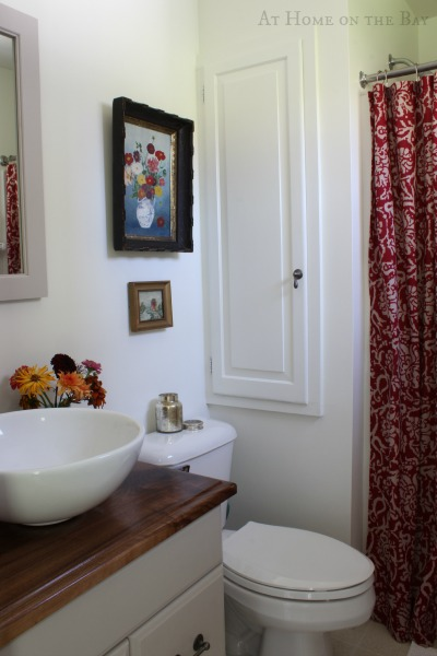 bathroom update on a $500 budget