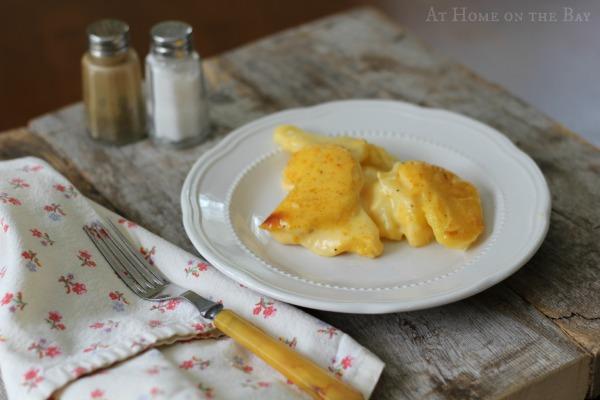 cheddar jack potato casserole