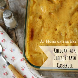Cheddar Jack Cheese Potato Casserole