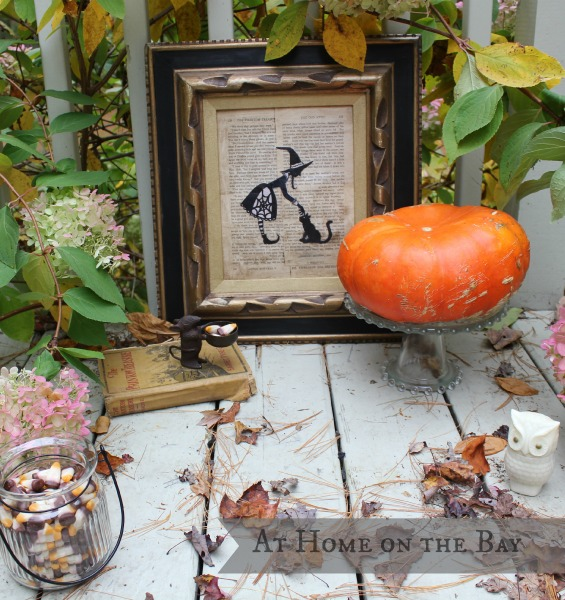 halloween silhouette tutorial