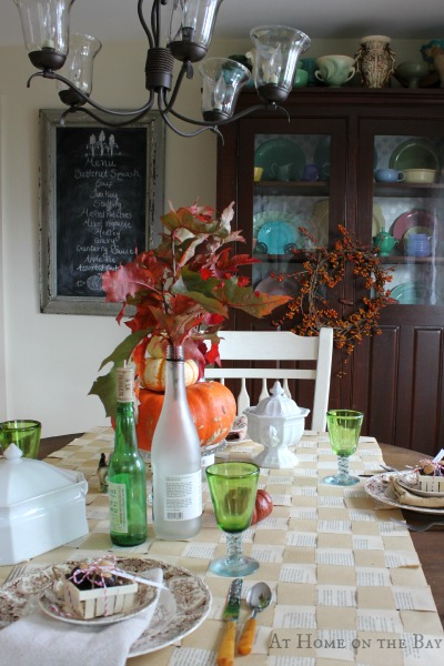 casual thanksgiving tablescape-5