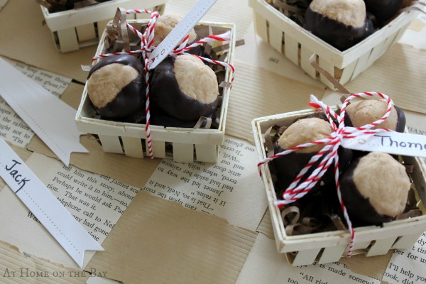 peanut Butter Horse Chestnut Favor