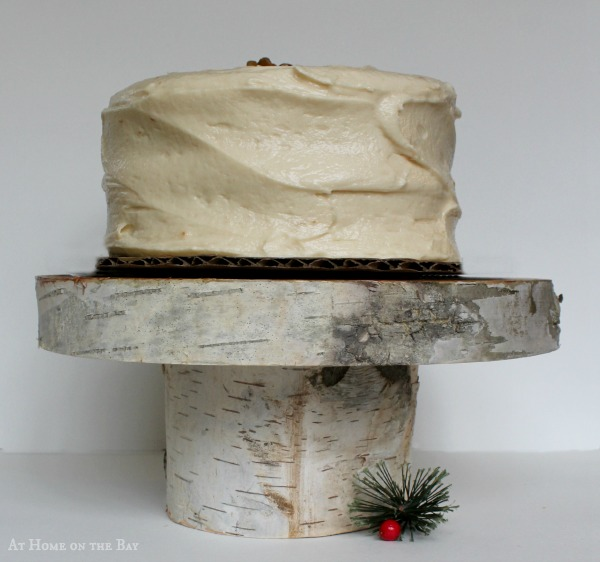 DIY-5 minute cake stand
