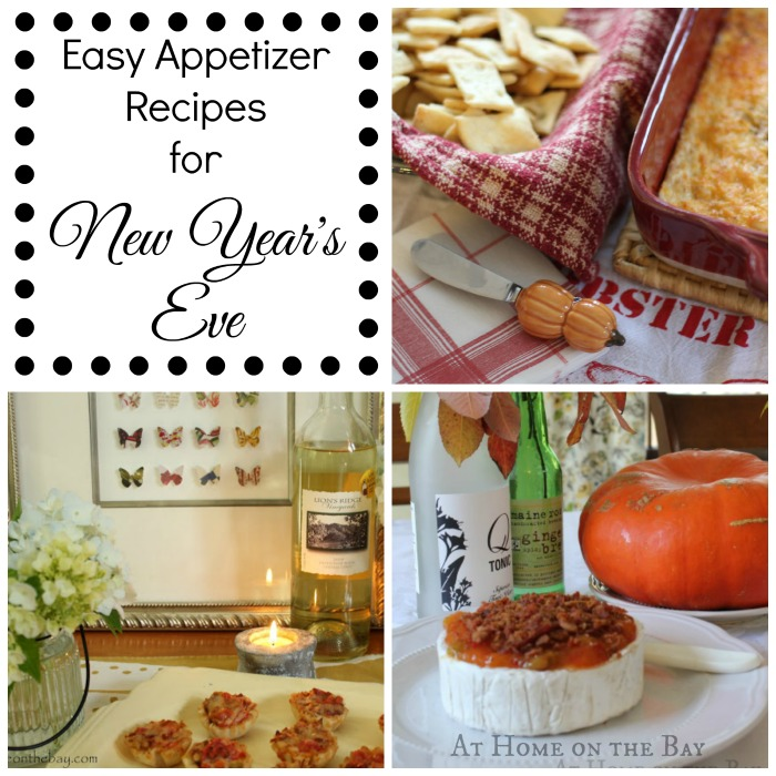 Easy Appetizer Recipes for New Year's Eve