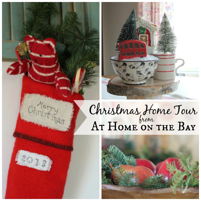 Christmas Home Tour from At Home on the Bay
