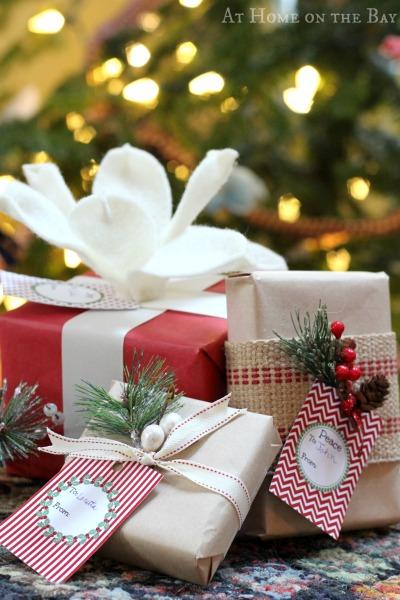 free printable christmas gift-tag