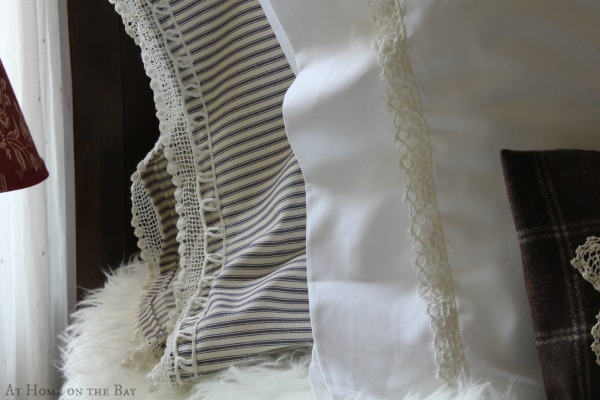 Tips for adding lace trim