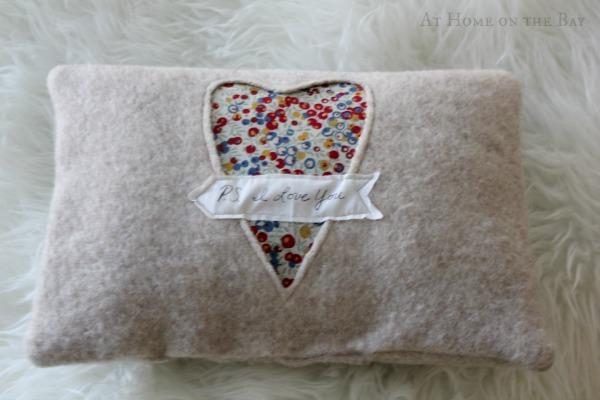 heart pillow tutorial