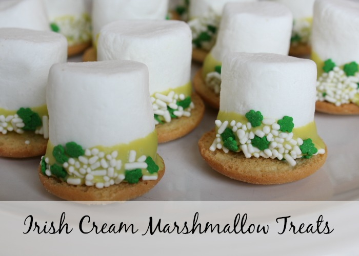Irish Cream Marshmallow Treats