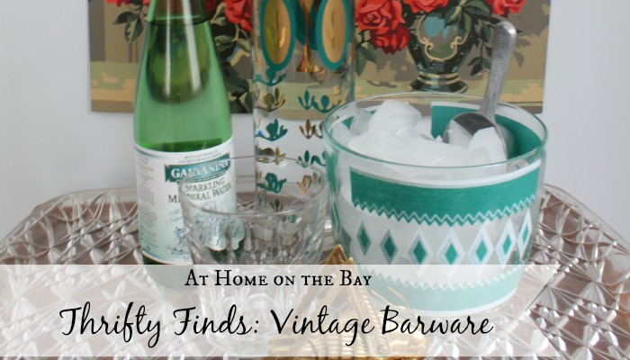 Thrifty Finds: Vintage Barware