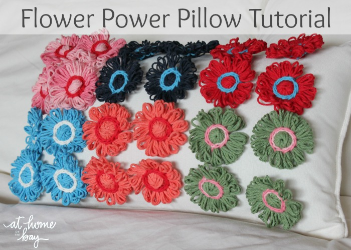 Flower Power Pillow Tutorial