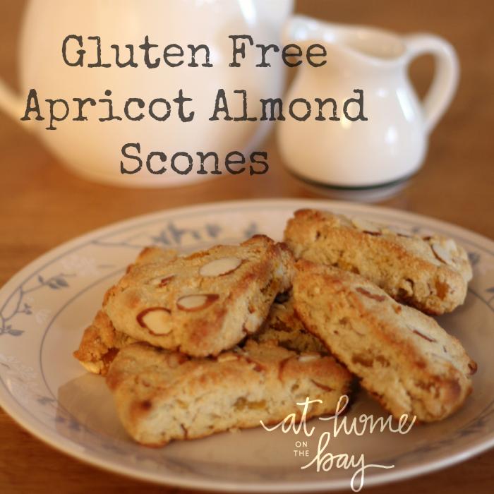 Gluten Free Apricot Almond Scones