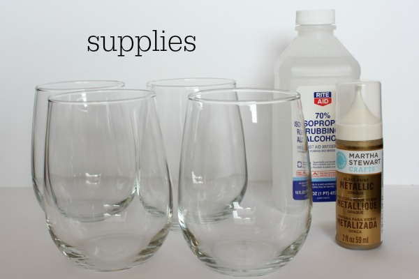 anthro inspired glassware supplies