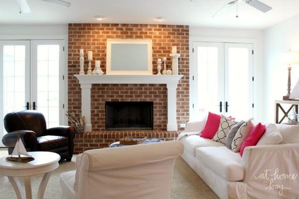 Kelly's coastal living room