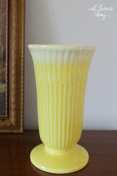 Yellow Coronet Vase