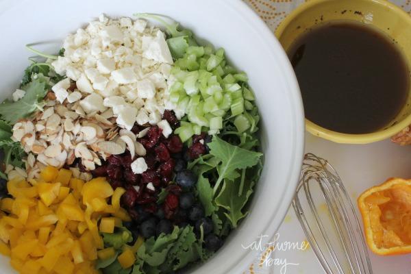 kale and quinoa - salad