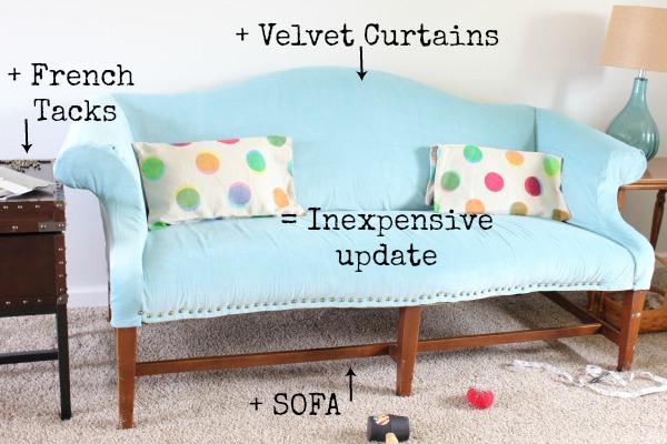 Diy Upholstered Sofa