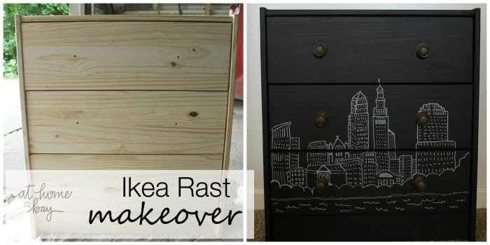 Ikea Rast Makeover with Chalk Paint and a Sharpie