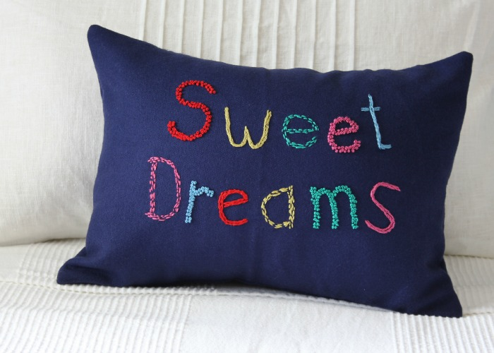 Sweet Dreams Pillow Tutorial