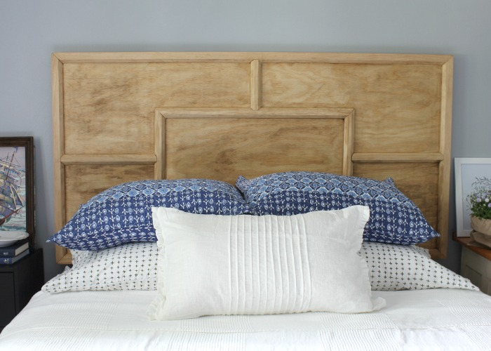 The making of a headboard
