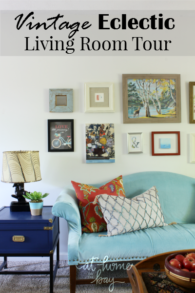 Our Vintage Eclectic Living Room Tour