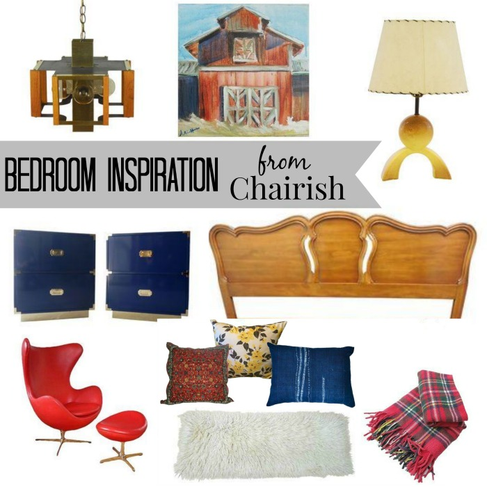 bedroom inspiration from Chairish